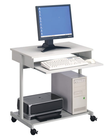Durable PC Workstation Standard, grey