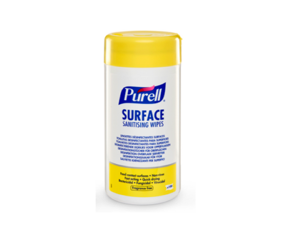 PURELL® Surface Sanitizing Wipes 100 & 200 Count Canister