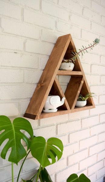 Triple Triangle Shelf