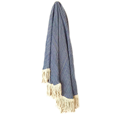 Sky Turkish Throw