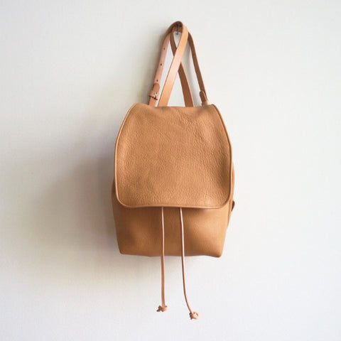 Signature Backpack - Camel