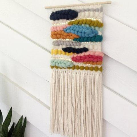 End of the Rainbow Wall Hanging - Medium