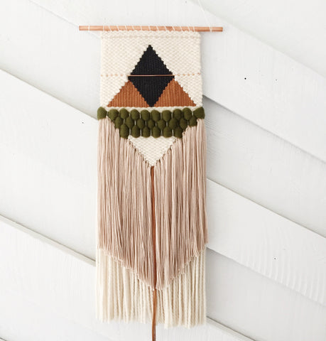 Forest & Rust Wall Hanging - Medium