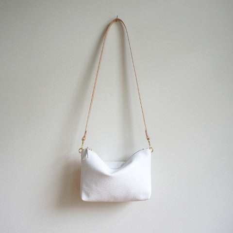 Mini Leather Hobo