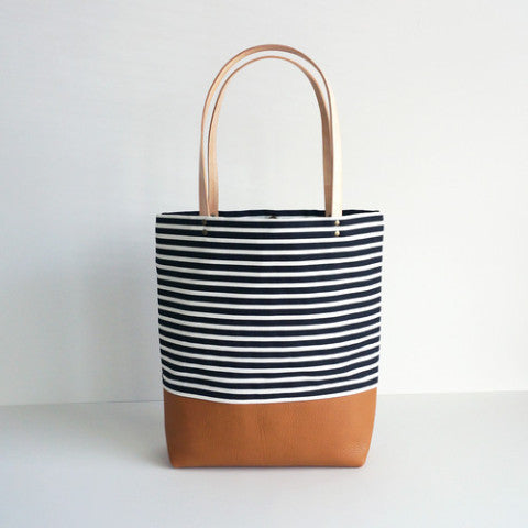 Dolores Striped Tote