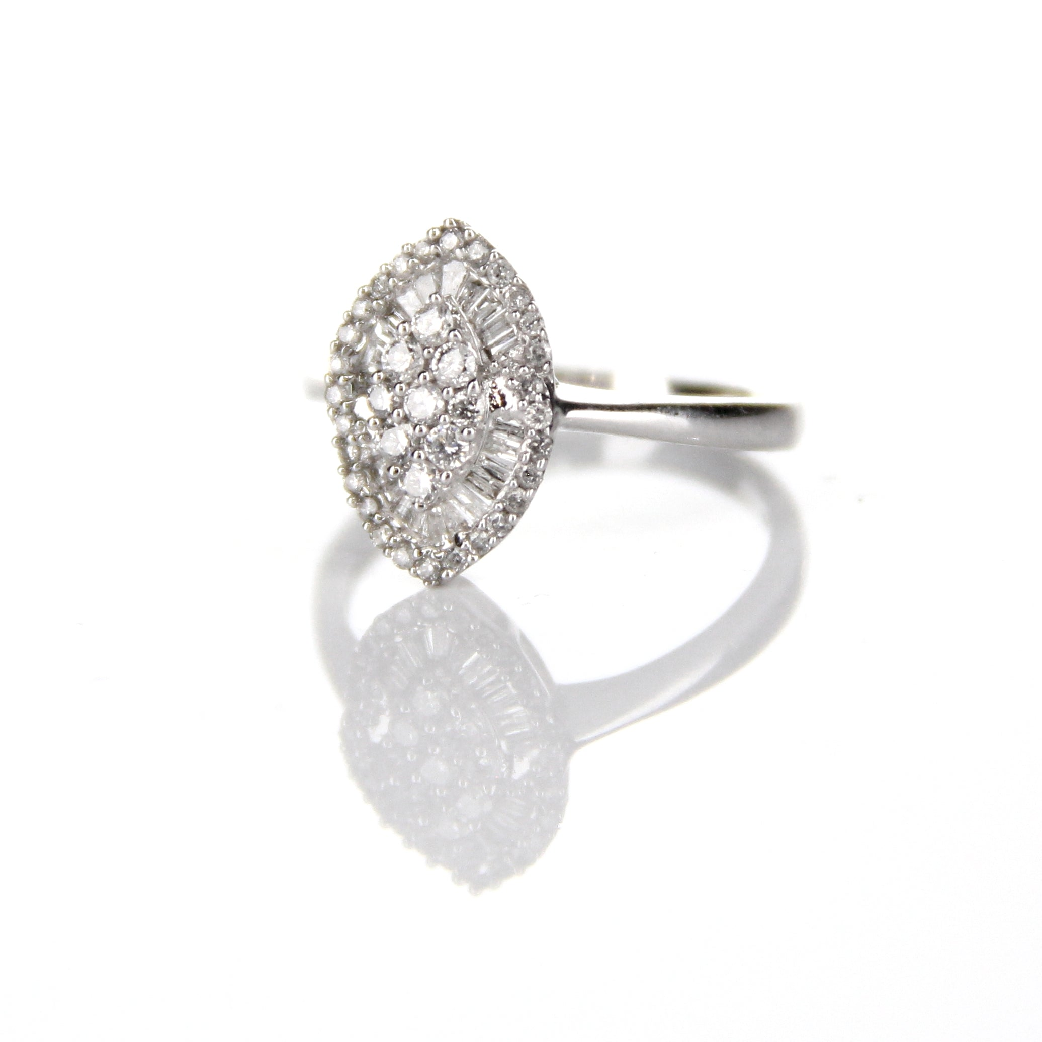 0.39ct Diamond Ring