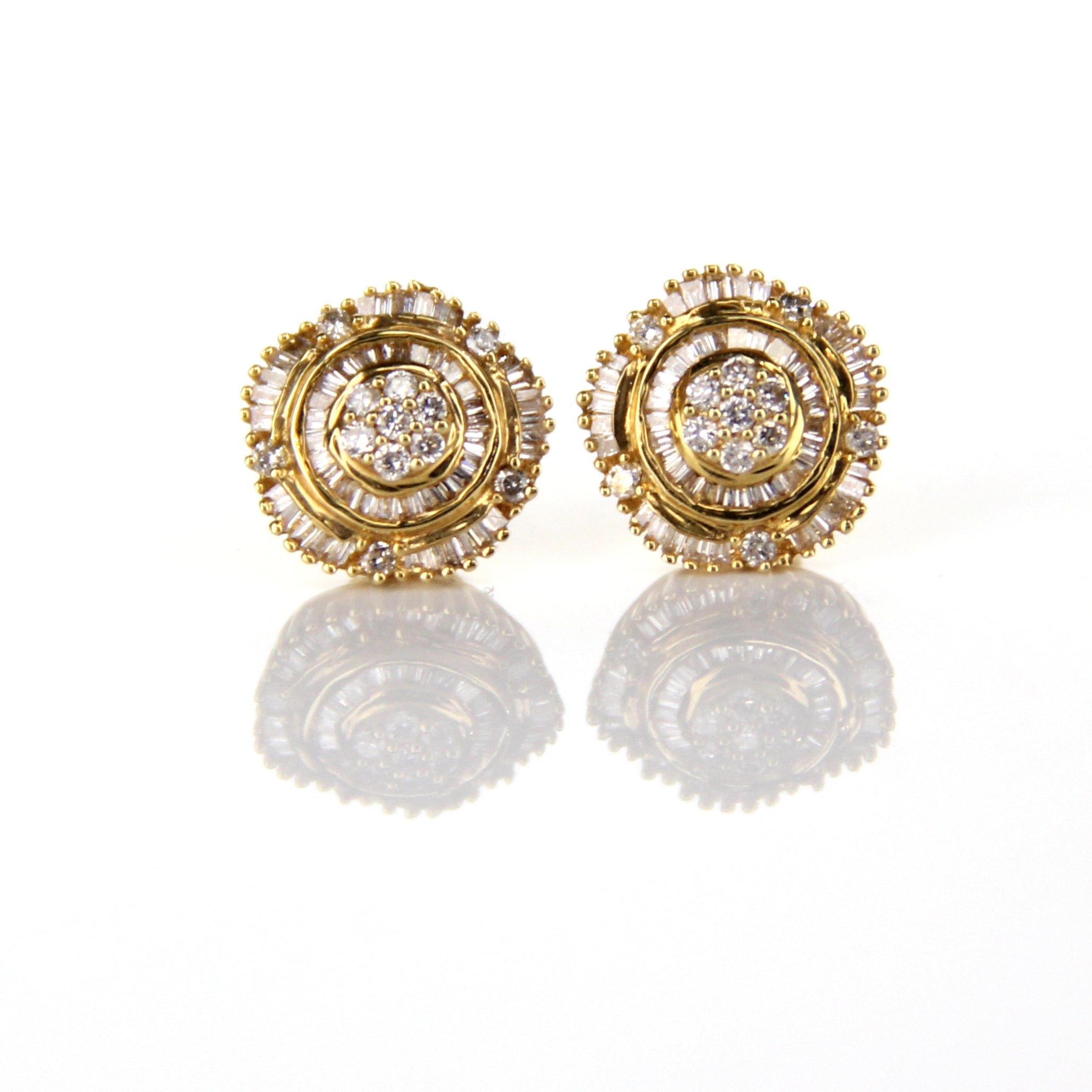 0.56ct Diamond Earrings