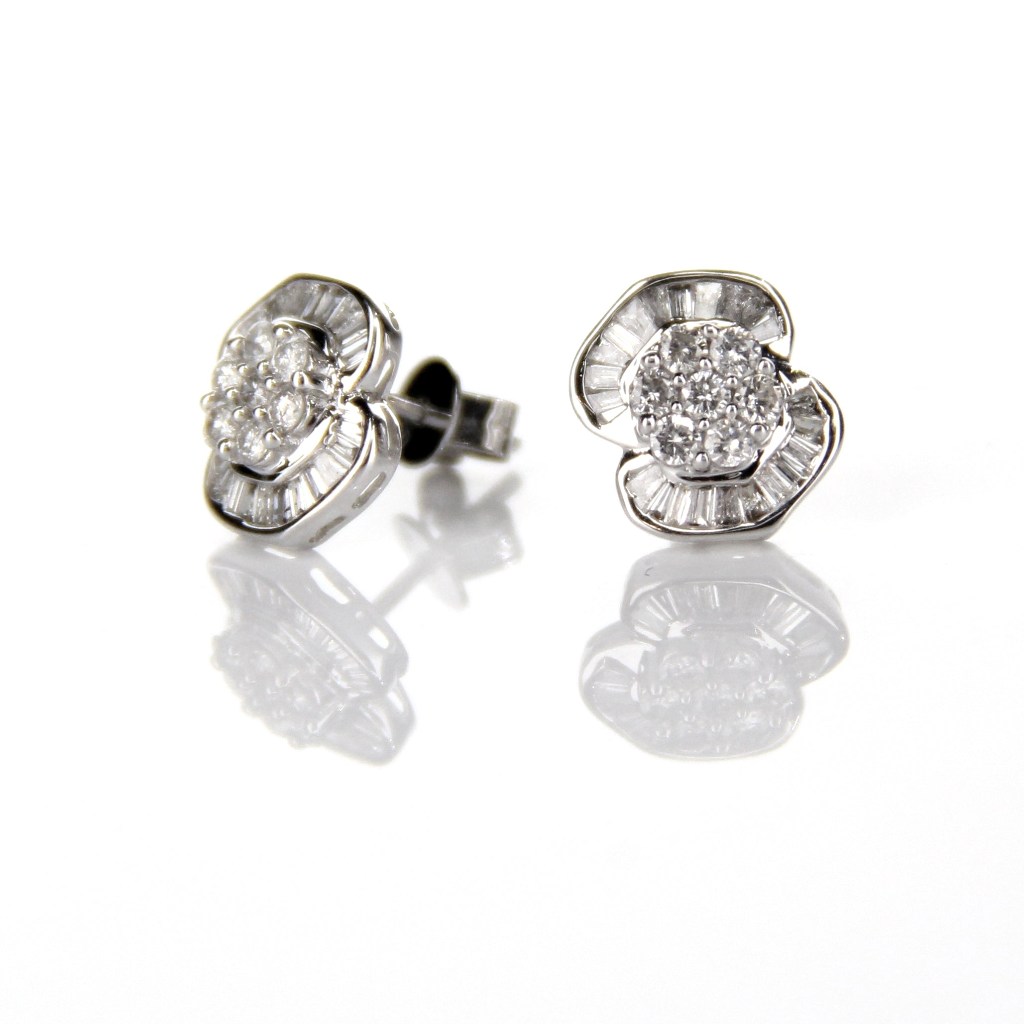 0.67ct Diamond Earrings