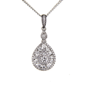 0.87ct Diamond Pendant