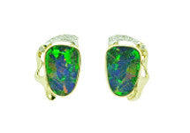 Doublet Opal Earrings