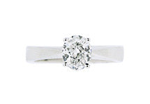 1.00ct Oval Cut Diamond Ring