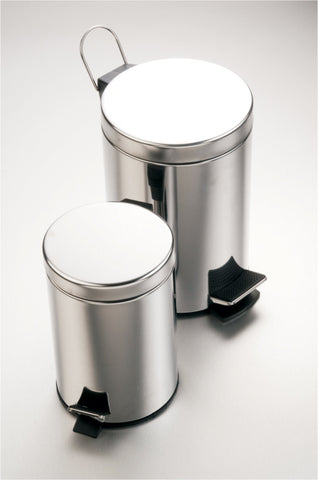 Dustbin Stainless Steel, 5L, Gio Bella