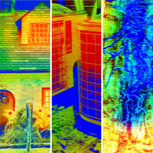 Thermal images of different prices