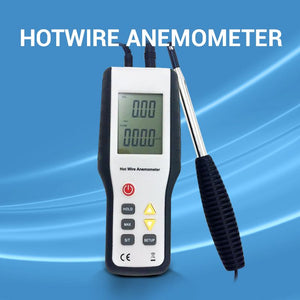 Hotwire Anemometer: turning plugging HVAC holes into a cinch + air duct traversing secrets