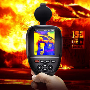 thermal camera use in fire