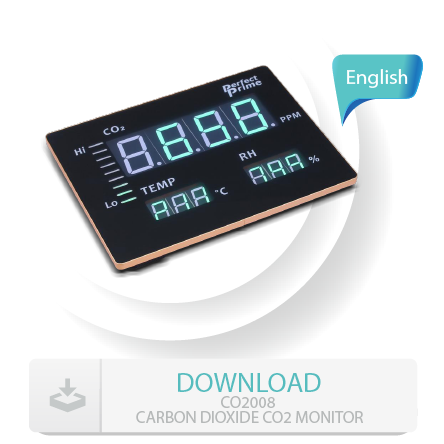 C2008 CARBON DIOXIDE CO2 MONITOR manual
