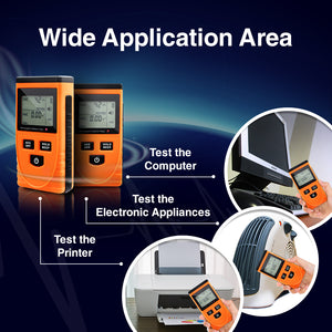 PerfectPrime MW3120 Electromagnetic Radiation Detector/Tester showcase of different applications
