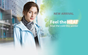 PerfectPrime Heated Electric scarf