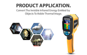 Infrared camera - IR0001 - Product applications - Perfect-prime