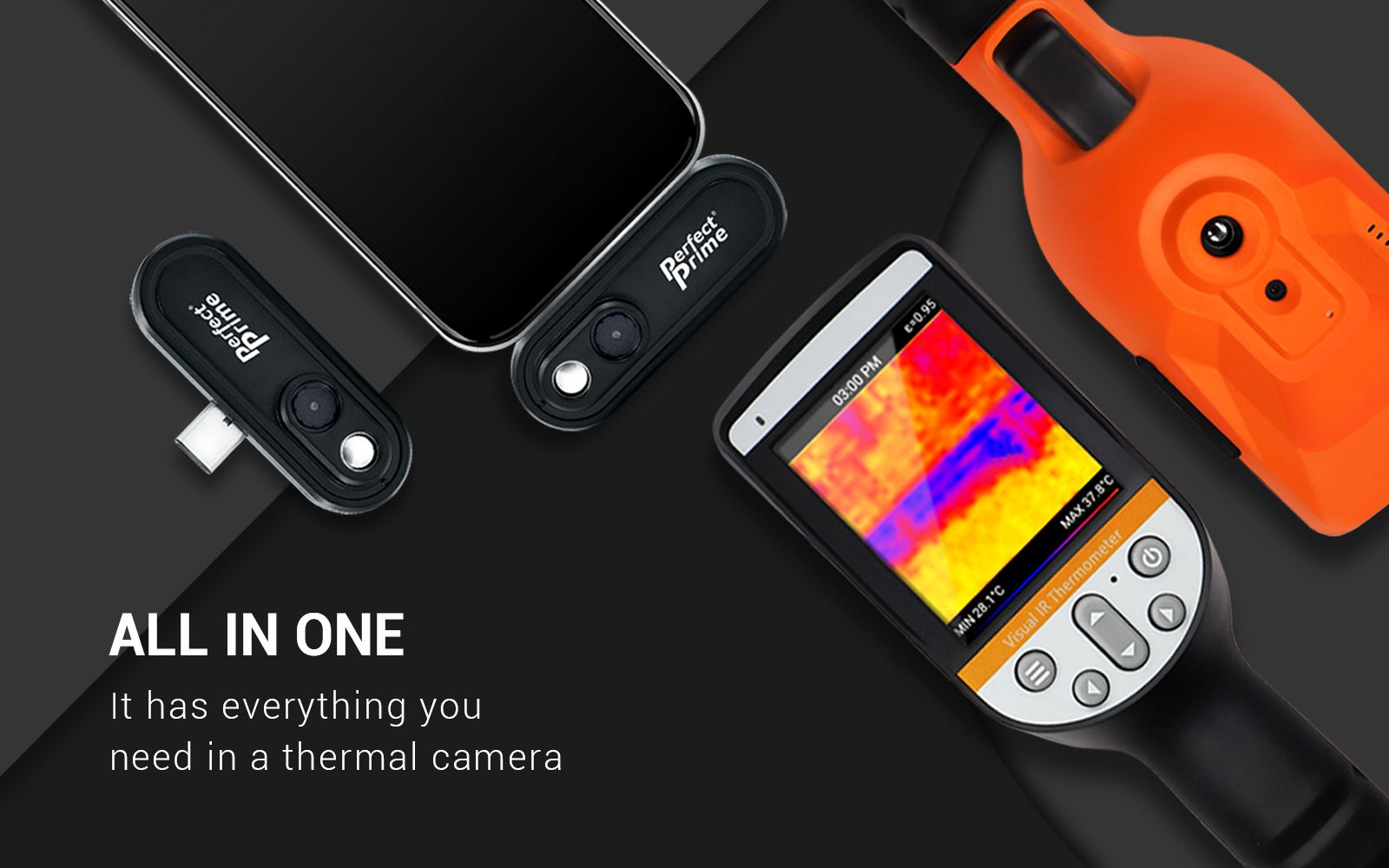 PerfectPrime thermal camera banner
