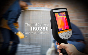 perfectprime Ir0280 thermal camera working on HVAC banner