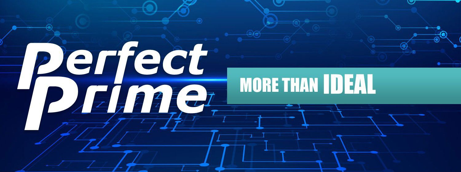 PerfectPrime banner for our story