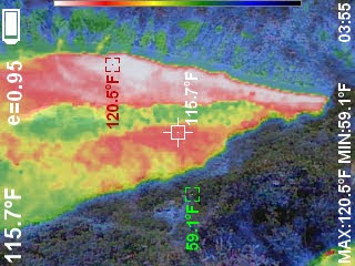 Volcano Image Thermal