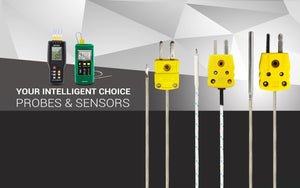 Perfect prime probe sensors for thermometer and air pressure meters