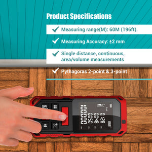 PerfectPrime RF0760 Laser distance meter product specs