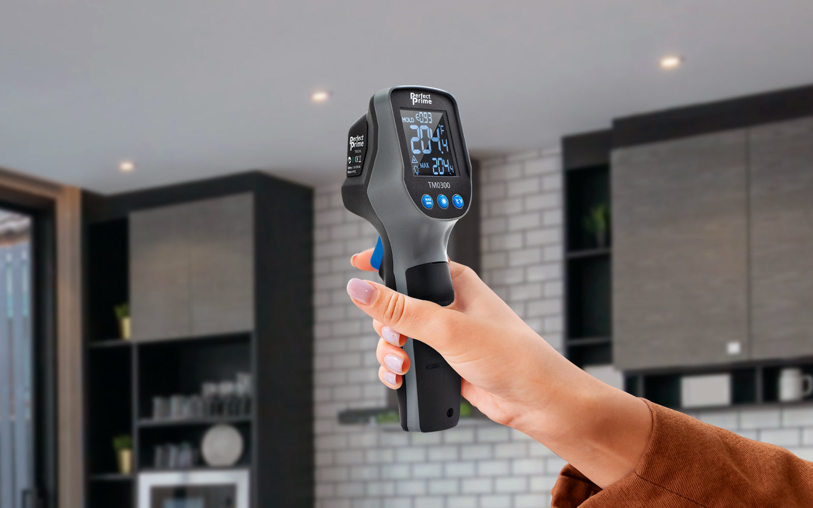 using an infrared thermometer