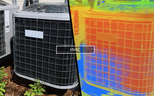 Thermal cameras for HVAC inspection and report generating