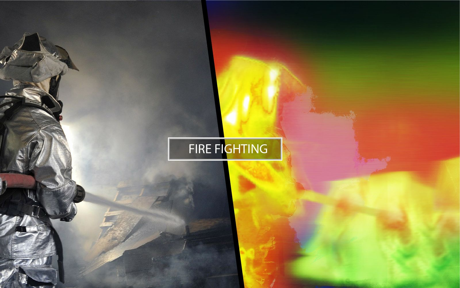 Thermal Camera for fire fighting