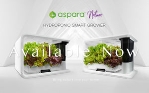 aspara nature home smart hydroponic grower available now