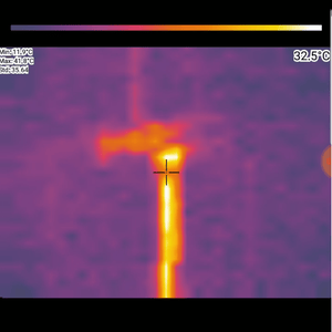 PerfectPrime cool thermal image of pipe