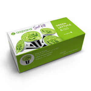 Green Lettuce Seed Kit box