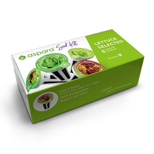 Lettuce Selected Seed Kit box