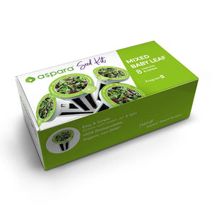 PerfectPrime Mixed baby leafs seed kit box