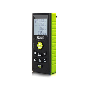 Laser Distance Digital Diastimeter With Clip Water & Dust proof, Green Device, side View