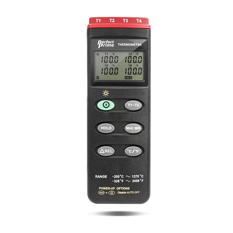 TC0304 Thermocouple Thermometer front