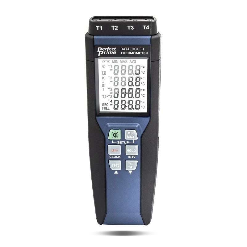 TC0378 Thermocouple Thermometer front