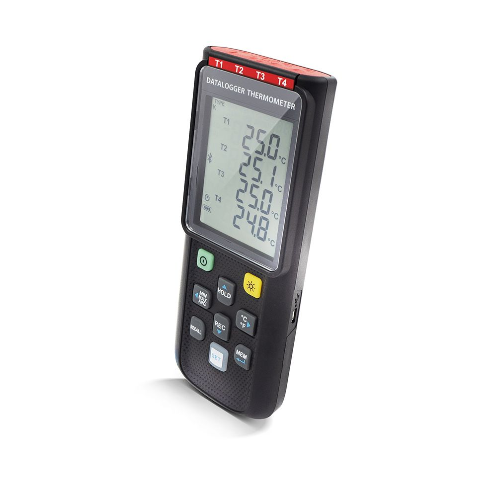 PerfectPrime TC0521 Datalogger Thermometer side