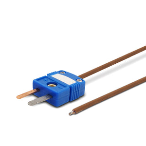 T-Type Low Temperature Sensor, Brown Cable, Flat