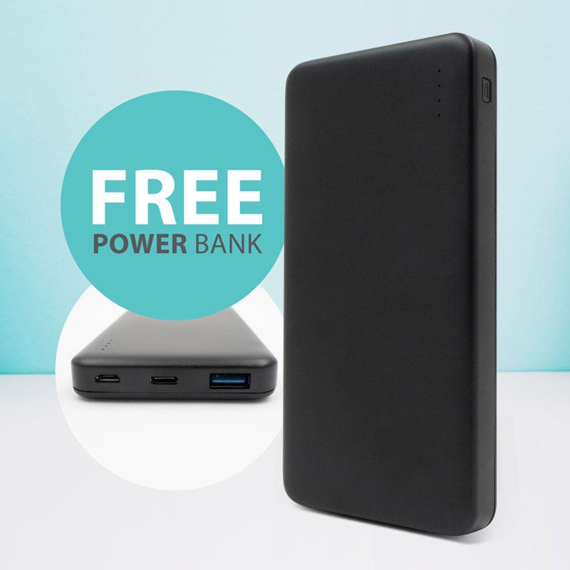 Free black powerbank for PerfectPrime electric heated blanket