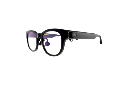 Solos smart glasses perspective view