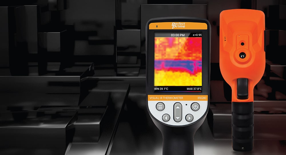 Thermal camera IR0280 front and back