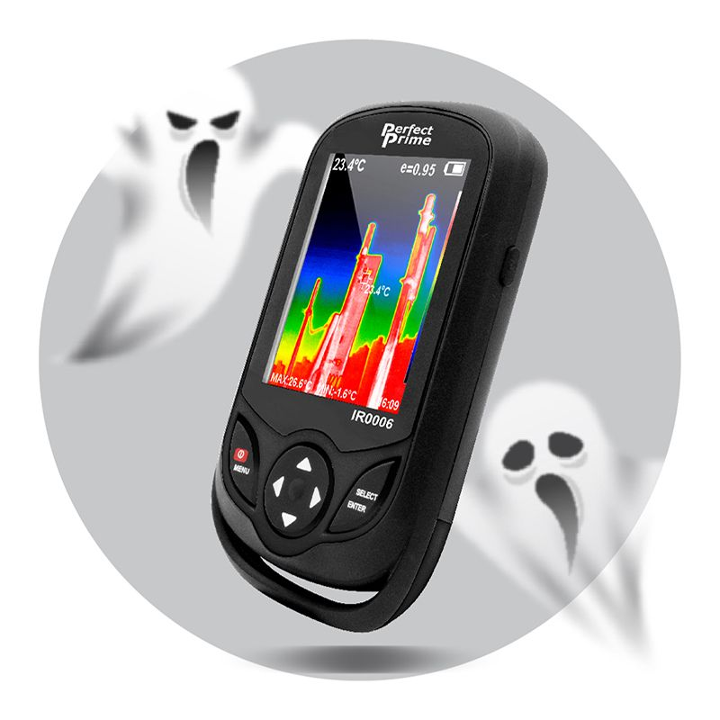 PerfectPrime IR0006 thermal camera with two ghost