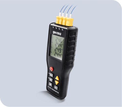 TC9815 K Type 4 Channel Thermocouple Thermometer