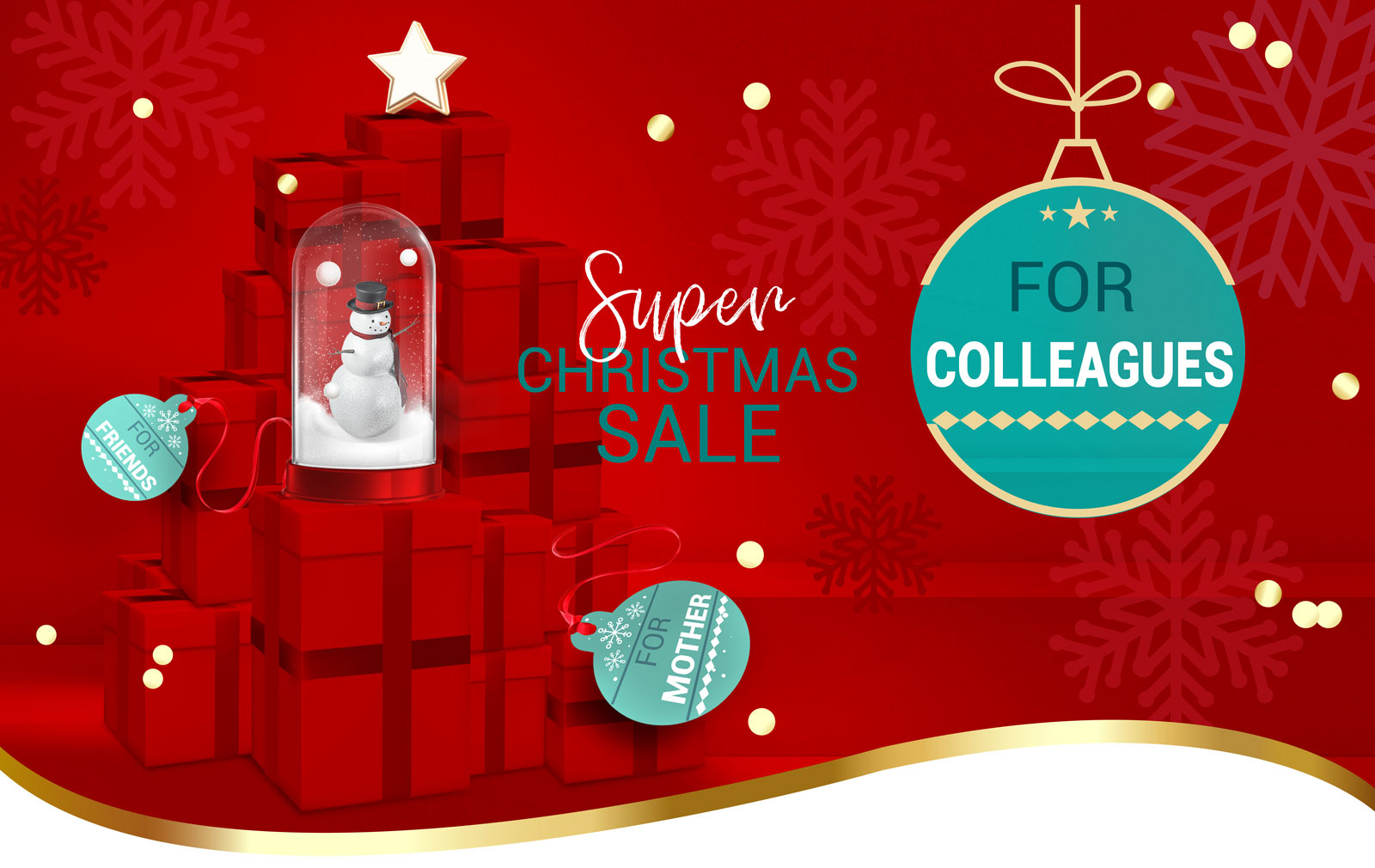 super christmas sale gift guide for colleagues
