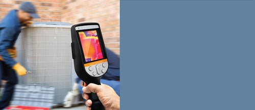 Ir0280 Thermal Camera inspecting HVAC