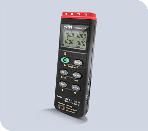 TC0309 K Type 4 Channel Thermocouple Thermometer